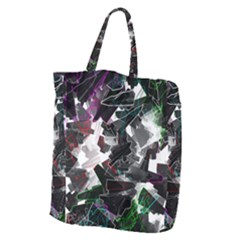 Abstract Science Fiction Giant Grocery Tote