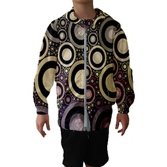 Art Retro Vintage Kids  Hooded Windbreaker