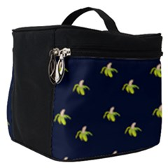 Peeled Banana On Blue Make Up Travel Bag (small)