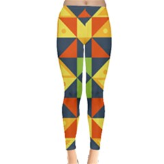 Background Geometric Color Plaid Leggings  by Mariart