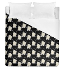 Beanie Boy Pattern Duvet Cover (queen Size) by snowwhitegirl