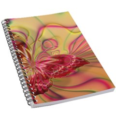Arrangement Butterfly Pink 5 5  X 8 5  Notebook by HermanTelo