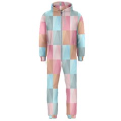 Background Pastel Hooded Jumpsuit (men)  by HermanTelo