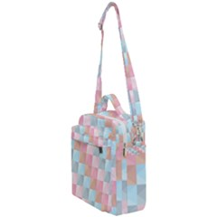 Background Pastel Crossbody Day Bag by HermanTelo