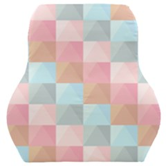 Background Pastel Car Seat Back Cushion