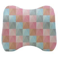 Background Pastel Velour Head Support Cushion