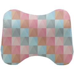 Background Pastel Head Support Cushion