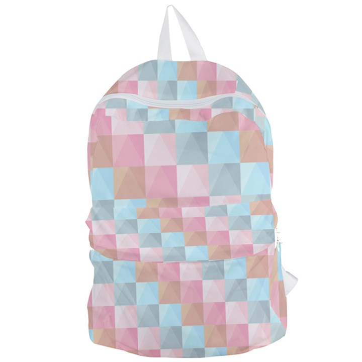 Background Pastel Foldable Lightweight Backpack