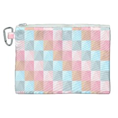 Background Pastel Canvas Cosmetic Bag (xl) by HermanTelo
