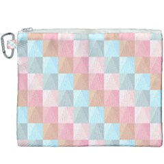 Background Pastel Canvas Cosmetic Bag (xxxl) by HermanTelo