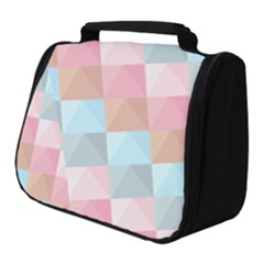 Background Pastel Full Print Travel Pouch (small) by HermanTelo