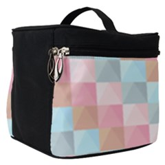 Background Pastel Make Up Travel Bag (small)