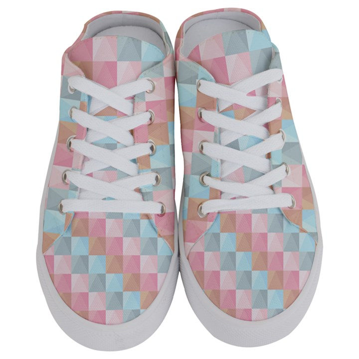 Background Pastel Half Slippers