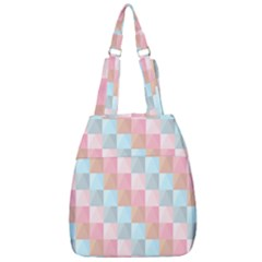 Background Pastel Center Zip Backpack by HermanTelo