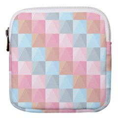 Background Pastel Mini Square Pouch by HermanTelo