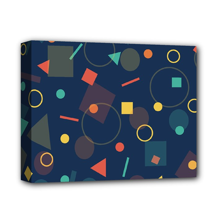 Background Geometric Deluxe Canvas 14  x 11  (Stretched)