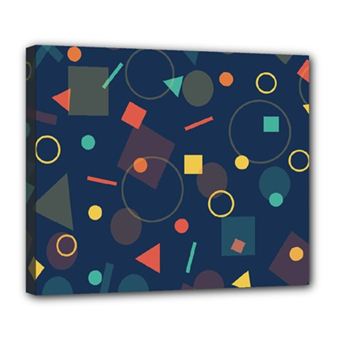 Background Geometric Deluxe Canvas 24  X 20  (stretched)