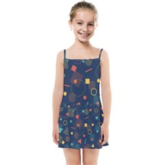 Background Geometric Kids  Summer Sun Dress