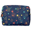 Background Geometric Make Up Pouch (Medium) View1