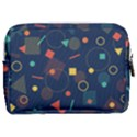 Background Geometric Make Up Pouch (Medium) View2