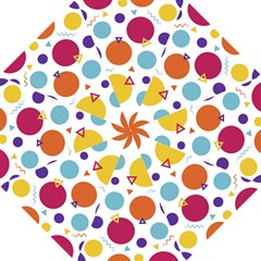 Background Polka Dot Hook Handle Umbrellas (Small)