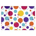 Background Polka Dot Samsung Galaxy Tab 10.1  P7500 Flip Case View1