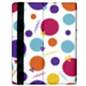 Background Polka Dot Samsung Galaxy Tab 10.1  P7500 Flip Case View2