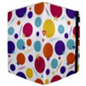 Background Polka Dot Samsung Galaxy Tab 10.1  P7500 Flip Case View4