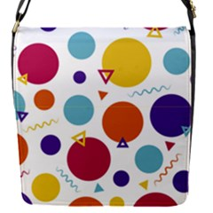 Background Polka Dot Removable Flap Cover (S)