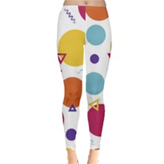 Background Polka Dot Leggings