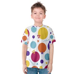 Background Polka Dot Kids  Cotton Tee