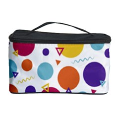 Background Polka Dot Cosmetic Storage