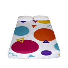 Background Polka Dot Fitted Sheet (Full/ Double Size)