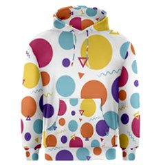 Background Polka Dot Men s Pullover Hoodie