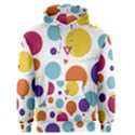 Background Polka Dot Men s Pullover Hoodie View1