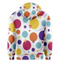 Background Polka Dot Men s Pullover Hoodie View2