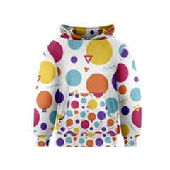Background Polka Dot Kids  Pullover Hoodie