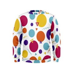 Background Polka Dot Kids  Sweatshirt