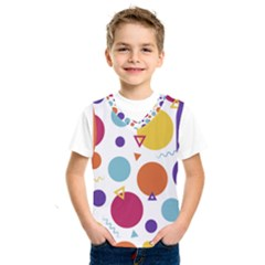 Background Polka Dot Kids  SportsWear