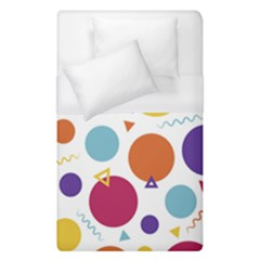 Background Polka Dot Duvet Cover (Single Size)