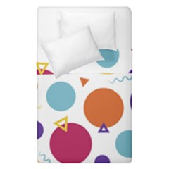 Background Polka Dot Duvet Cover Double Side (Single Size)