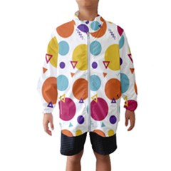 Background Polka Dot Kids  Windbreaker