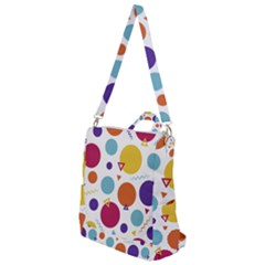 Background Polka Dot Crossbody Backpack