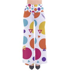 Background Polka Dot So Vintage Palazzo Pants