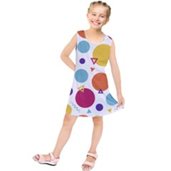 Background Polka Dot Kids  Tunic Dress