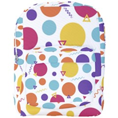 Background Polka Dot Full Print Backpack