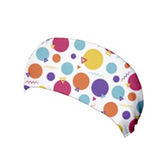 Background Polka Dot Yoga Headband