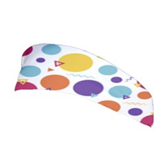 Background Polka Dot Stretchable Headband