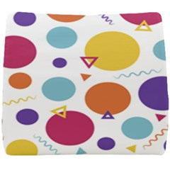 Background Polka Dot Seat Cushion