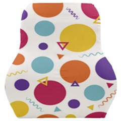 Background Polka Dot Car Seat Back Cushion